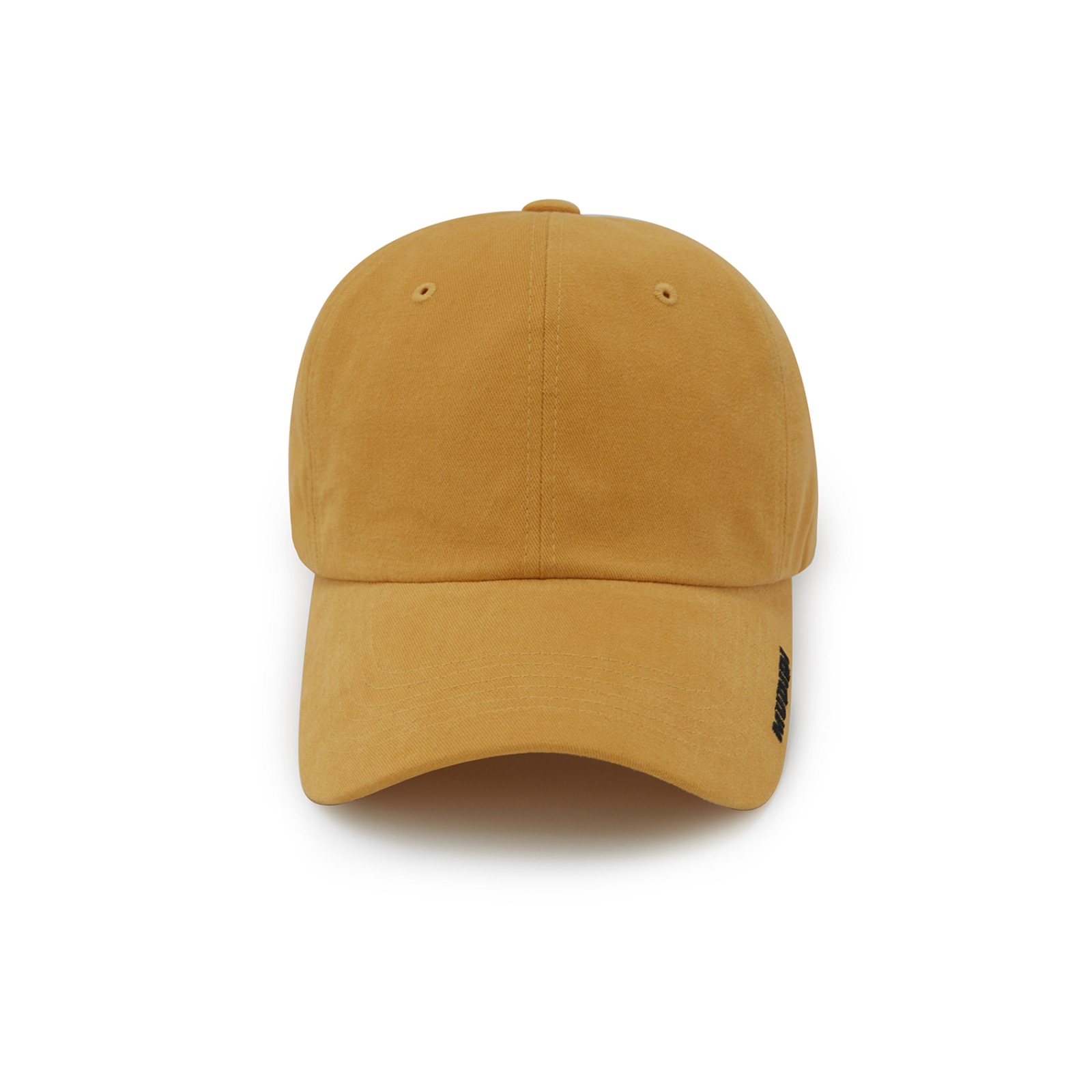 Mudidi basic ball cap 001 Yellow