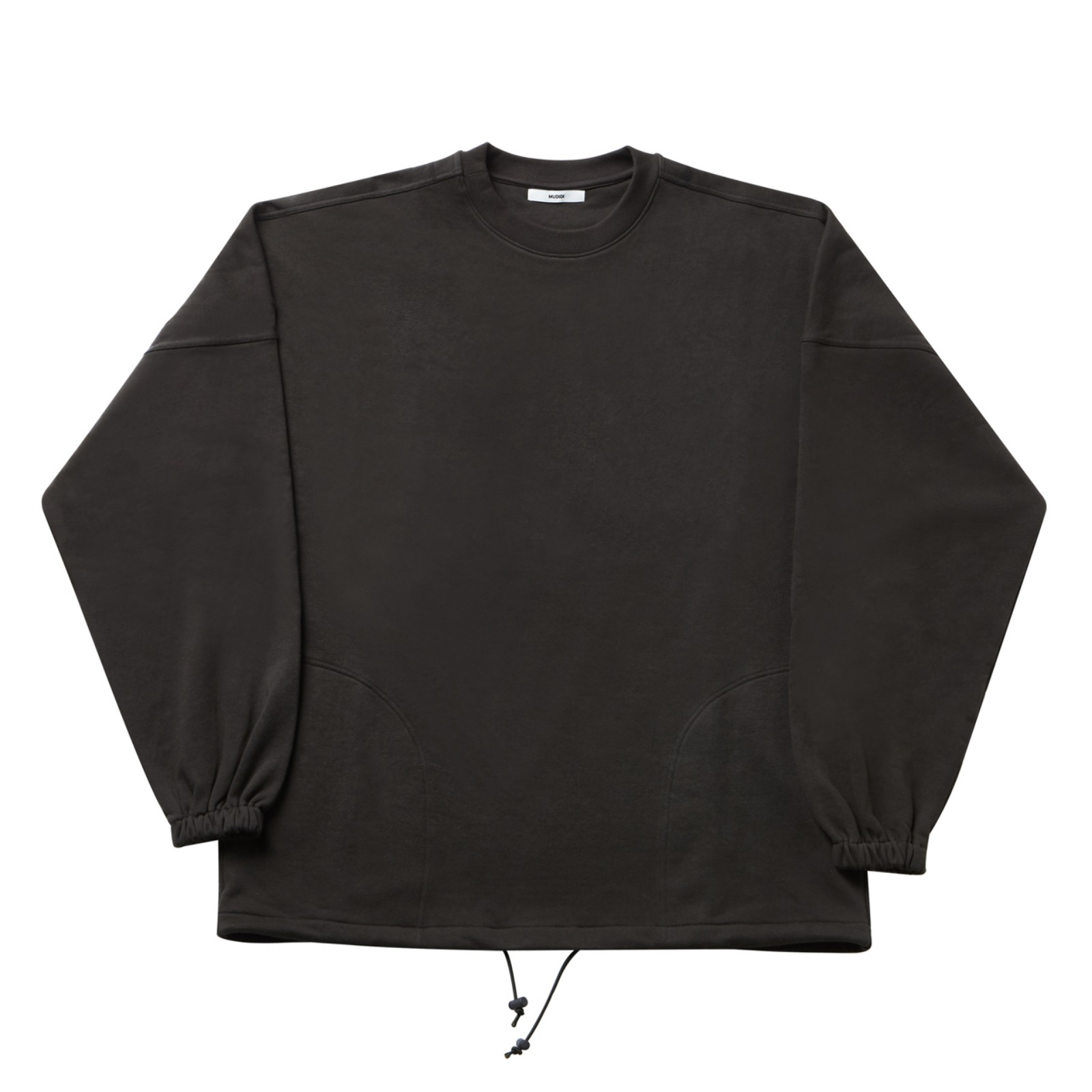 Over size sweat shirt 001 Chacol(Unisex)