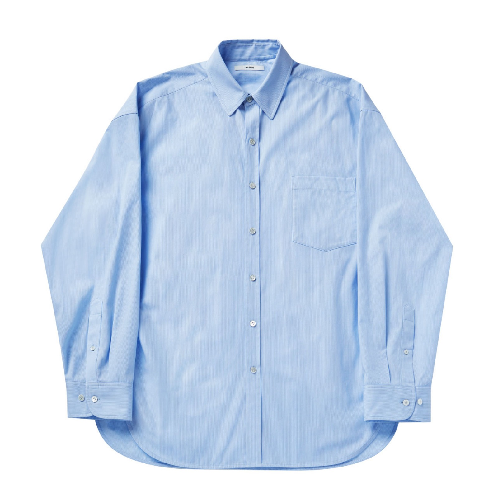 Stripe shirt 002 Blue