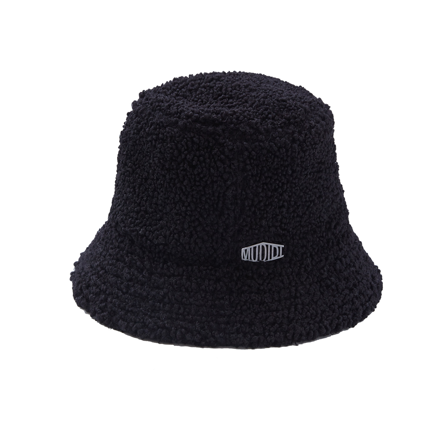 Mudidi Teddy bucket hat 002 Black