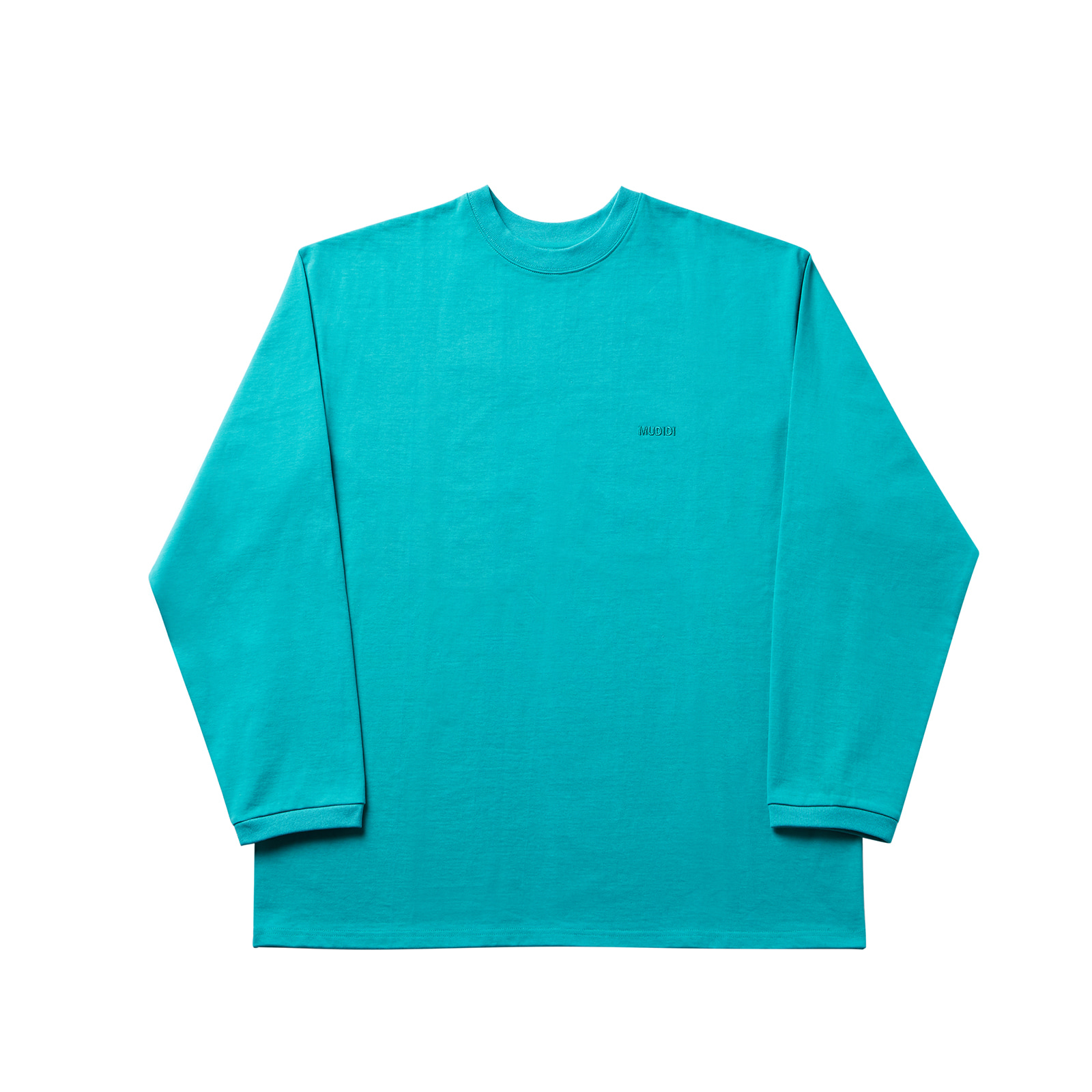 Long sleeve 001 aquagreen(unisex)