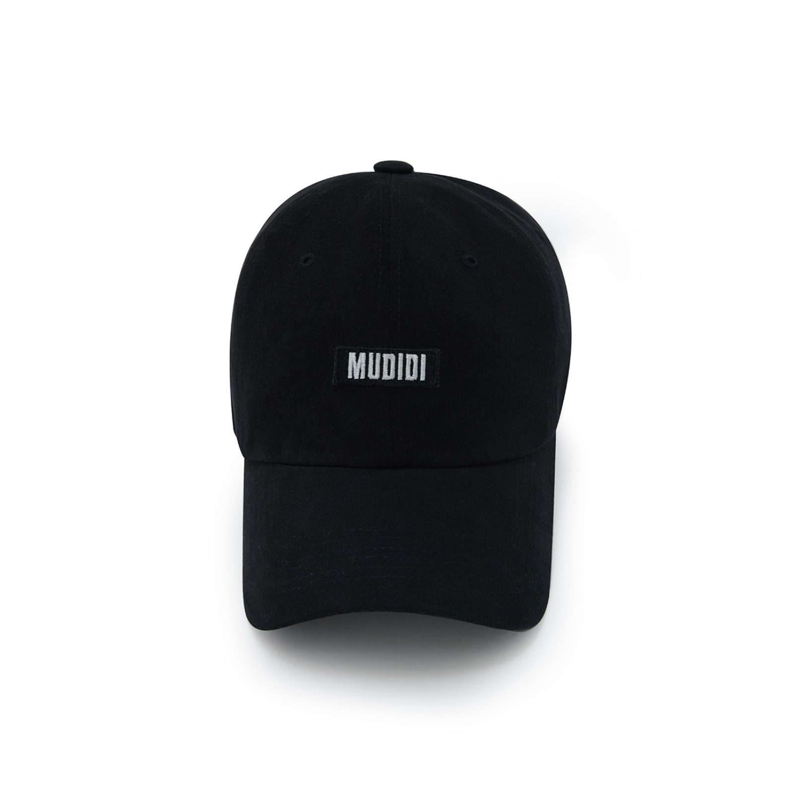 Mudidi basic ball cap 001 Black