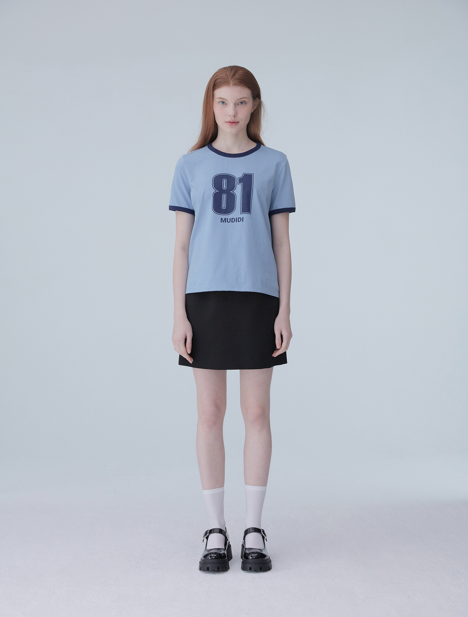 Numbering t-shirt 002 Blue